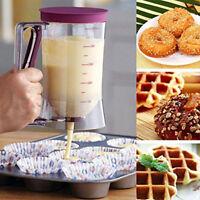 900mL Batter Dispenser Cupcake Pancake Waffle Measuring Cup Kitchen Baking Tool