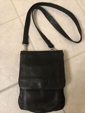 Kenneth Cole New York Black Leather