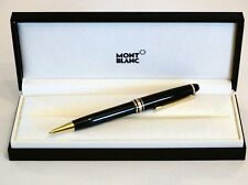 MONTBLANC MEISTERSTUCK 165 MECHANICAL PENCIL IN BLACK WITH GOLD TRIM 0.5 -MINT