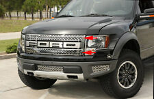 2010-2014 Ford F-150 Raptor Polished Stainless  Upper Grille Kit (2 pc)