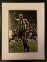 Signed Framed Alan Shearer Newcastle United Autograph Photo