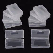 10X Schutz Hülle Spiel Hülle Case Boxen Cartidge Gameboy Advance GBA Spiele