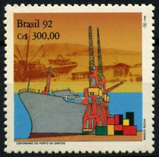 Il Brasile 1992 SG # 2517 Porto di Santos MNH #D 54866