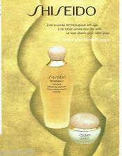PUBLICITE ADVERTISING 126  1996  lotion cosmétiques  Shiseido