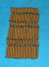meccano repro 120 solid brass long bolts, 111's  (6x20)