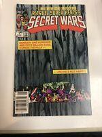 Secret Wars (1984) # 4 (VF/NM) Zeck Movie Disney Canadian Price Variant CPV
