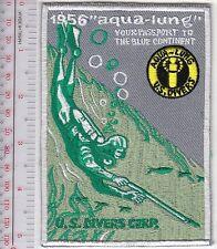 SCUBA Diving USA US Divers Aqua-Lung 1956 Catalog Cover Los Angeles, CA Grey