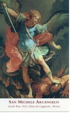 282 San Michele Arcangelo  Santino Holycard