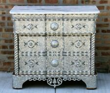 Levantine Moroccan/Syrian Dresser chest furniture inlaid with mother of pearl