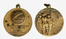 pcc2127_33)  MEDAGLIA 11° ADUNATA NAZIONALE ALPINI 1930 TRIESTE - G. ROMAGNOLI