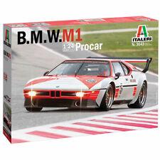 Italeri 3643 BMW M1 Procar 1:24 Car Plastic Model Kit