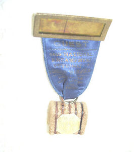 1935 Veterans of Foreign Wars Ribbon with Bale of Cotton Memorabilia New Orleans
