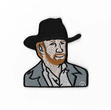 Chuck Norris Patch Embroidered Iron/Sew on Badge Blood Fist Walker Texas Ranger