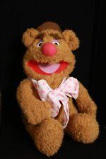 Muppets 12� Vintage Fozzie Bear Plush Toy Doll