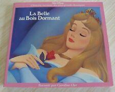 CD LIVRE WALT DISNEY LA BELLE AU BOIS DORMANT HISTOIRE RACONTE PAR CAROLINE CLER