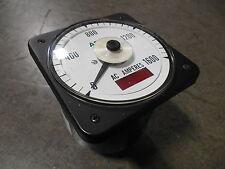 Used Asco 077 Di Ac Amperes Meter 01600 Ac Amps 503592 013 D
