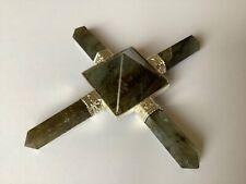 Labradorite Energy Generator Crystal Healing, Crystal Grids
