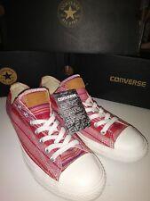 Converse Rare All Star Ct Ox Converse Red Men s Shoe Size 9 e387ba7ae