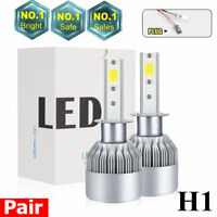 H1 1500W 225000LM CREE LED Headlight Kit High or Low Beam Bulb Xenon 6000K Power
