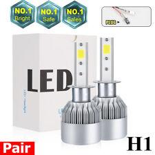 H1 200W 225000LM CREE LED Headlight Kit High or Low Beam Bulb Xenon 6000K Power