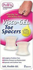 PediFix Visco-Gel Toe Spacers, Small 2 ea - 2 Pack