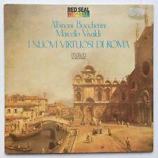 Vivaldi -I Nuovi Virtuosi Di Roma Albinoni Boccherini Marcello Red Seal Italy LP