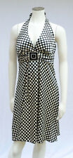 Junior's **SPEECHLESS** Semi-Formal Halter Top Polka Dot Dress Sz:13 NWOT!