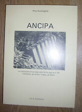 SCORCIAPINO - ANCIPA. LE COSTRUZIONE D'UNA DIGA NELLA SICILIA... - ANNI 80 (RD)
