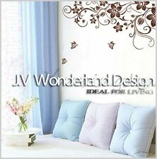 Butterfly Large Flower Removable Wall Decor Vinyl Sticker Decal DIY Paper room