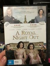 A Royal Night Out ex-rental region 4 DVD (2015 comedy drama movie)