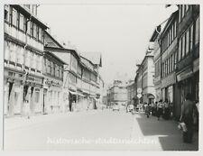Werningerode - Einkaufsstraße Autos Passanten Geschäfte - Altes Foto 1976