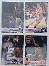 Lot de 3 Cartes Basketball NBA Hoops 94/95 Sacramento Kings Richmond + 1 Houston