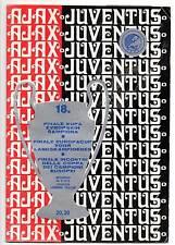 Europa Cup 1 Final 1973 Ajax - Juventus 1-0 DVD Full Match