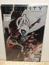 Avengers #23 Hickman Yu Infinity Comic Book