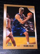 1998-99 Topps MICHAEL DOLEAC RC card #206 ~ Orlando Magic Rookie ~ F1