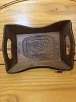 Wooden Bread Basket 8 1/2 X 12 Inches: Give Us This Day Our Daily Bread Vintage