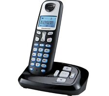 Sagemcom D210A Single DECT Cordless Telephone with Answering Machine - Black