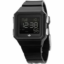 New Adidas ADH4003 Black Digital Watch Peachtree  Mens Womens Unisex Sport Water