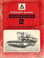 Heavy equipment manuals books for gleaner combine ebay allis chalmers l gleaner combine operators manual publicscrutiny Images