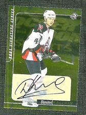 Dimitri Kalinin 00-01 Bap Signature Series Gold Autograph Buffalo Sabres