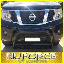 NISSAN NAVARA D40 (2005 - 2015) - NUDGE BAR / GRILLE GUARD BLACK