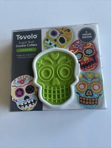 Skull Tovolo Cookie Cutters : 6 Unique Designs : NEW in Package : Free shipping!