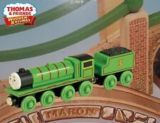THOMAS & FRIENDS WOODEN RAILWAY~ HENRY ~ NEW IN BOX ~ Y4072