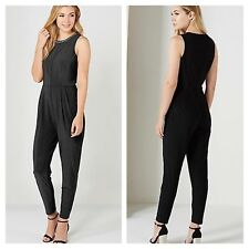 Oasis Size L Large 14 Embellished Neck JUMPSUIT Party Occasion Evening New £58