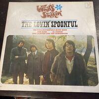 """THE LOVIN' SPOONFUL LP WHAT""""S SHAKIN' 1966 CLAPTON, BUTTERFIELD, KOOPER EKL4002"""
