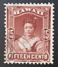 Hawaii #41 lightly used with unusual foreign cancel