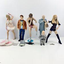 McFarlane Austin Powers Action Figure Lot Dr. Evil Scott Mini Me Fembot Felicity