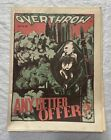 1988 Vol. 10 No. 1 Overthrow Newspaper Conspiracy Stop Contra Funding Poster
