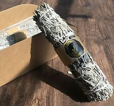 White Sage bundle, Salvia, Smudge, Home Incense Purification, Burning Herb 5""
