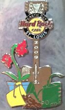 Hard Rock Cafe ST. LOUIS 2009 EARTH DAY PIN Gardening Tools GUITAR HRC #57931
